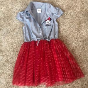 4T Disney Minnie Mouse Dress